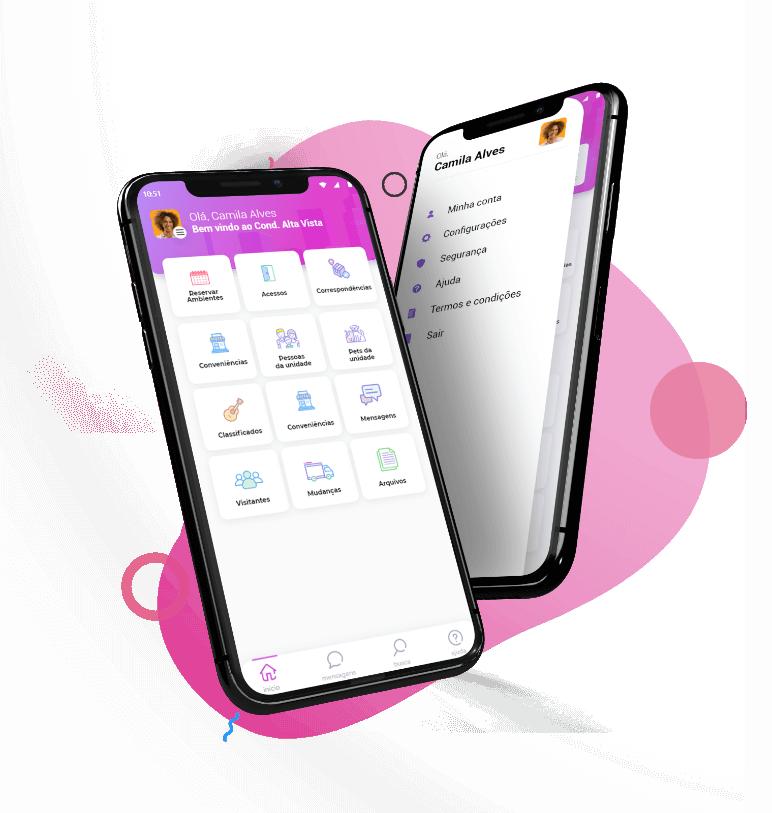 app para síndico